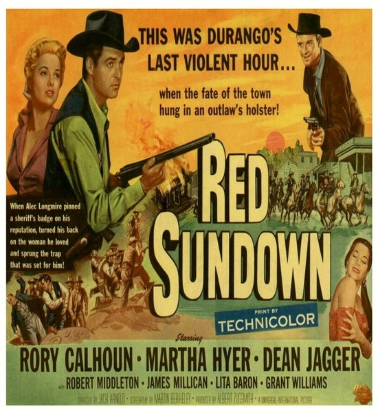Red Sundown (1956) Movie Poster