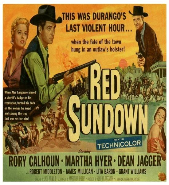 Red Sundown (1956) Movie Poster