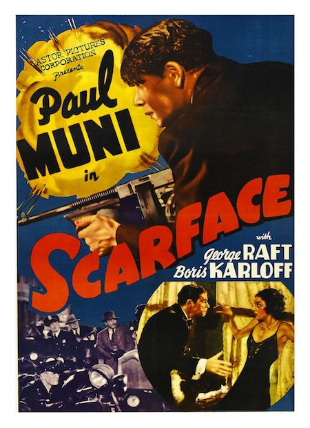 Scarface (1932) Movie Poster