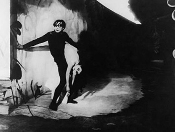The Cabinet of Dr. Caligari (1920) Set Still