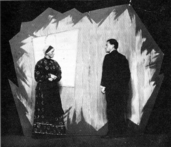 A scene from the 1919 play Transfiguration by Ernst Toller.