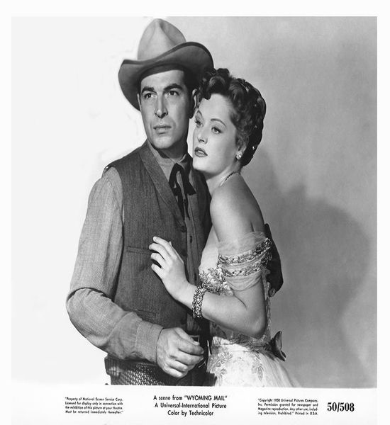 Wyoming Mail (1950) Stephen McNally, Alexis Smith