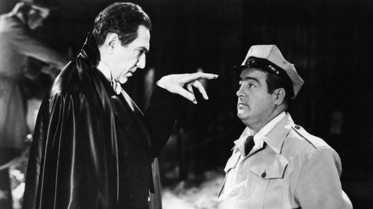 abbott and costello meet frankenstein, costello and dracula