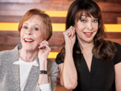 illeana douglas and carol burnette