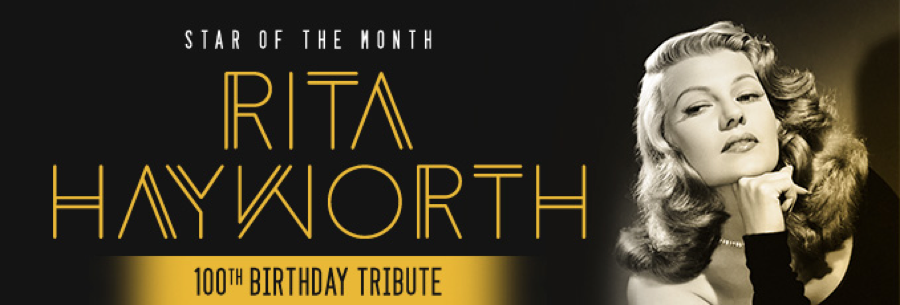 rita hayworth star of the month