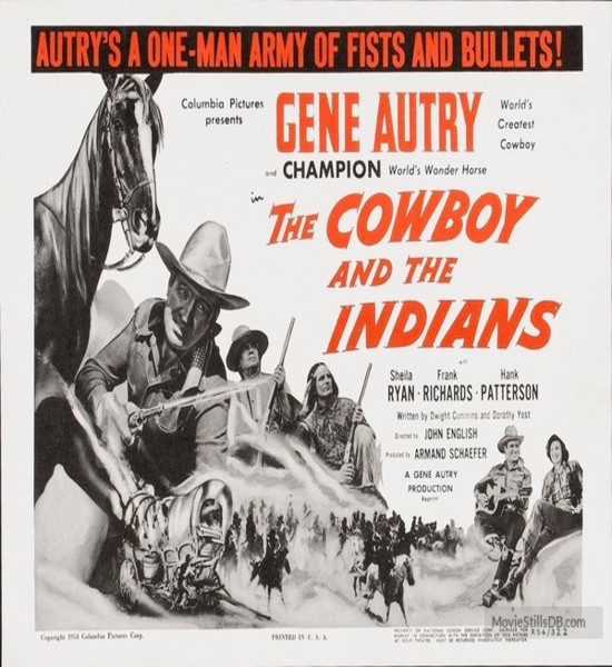 Cowboy and the Indians poster 3