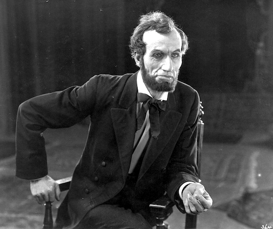 Joseph Henabery as Lincoln in Birth of a Nation (1915)