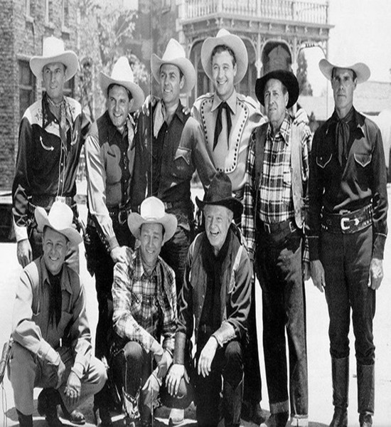 Trail of Robin Hood Cowboy Stars