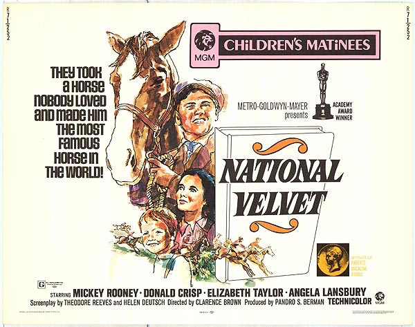 national velvet movie poster