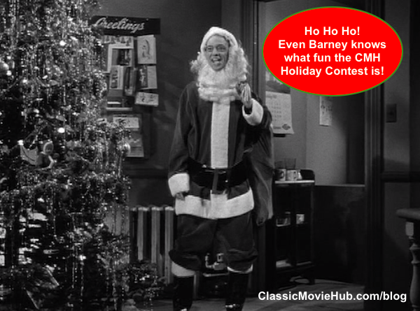 Barney fife santa clause cmh holiday contest