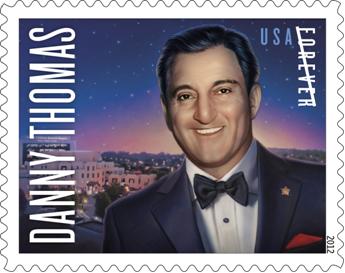 Danny Thomas U.S. Postage Stamp