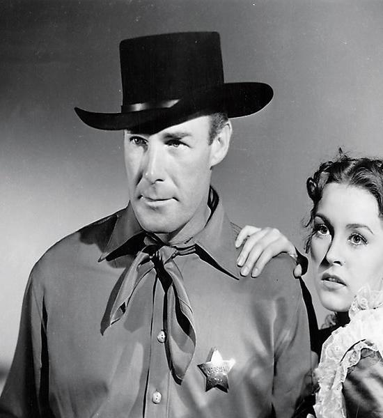 Frontier Marshal (1939) Randolph Scott and Nancy Kelly