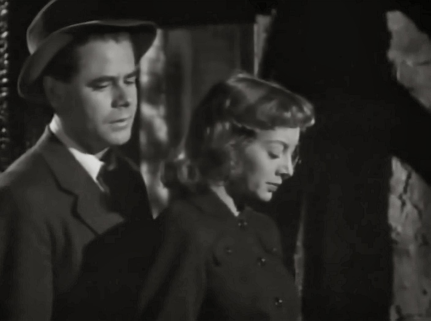 Glenn Ford and Evelyn Keyes in 'Mr. Soft Touch'