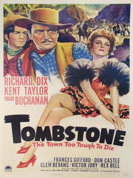 Tombstone (1942) Movie Poster