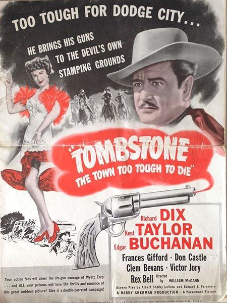 Tombstone Movie Poster (1942)