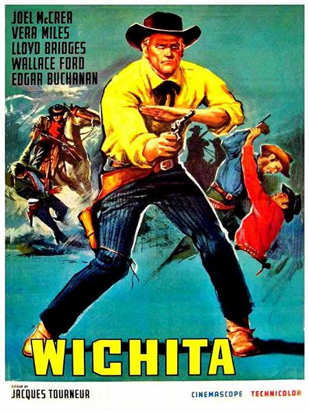 Wichita (1955) Movie Poster Jacques Tournerur