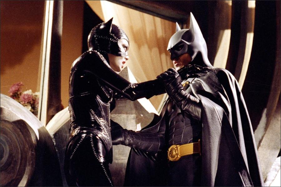 Michelle Pfieffer and Michael Keaton in 'Batman Returns'