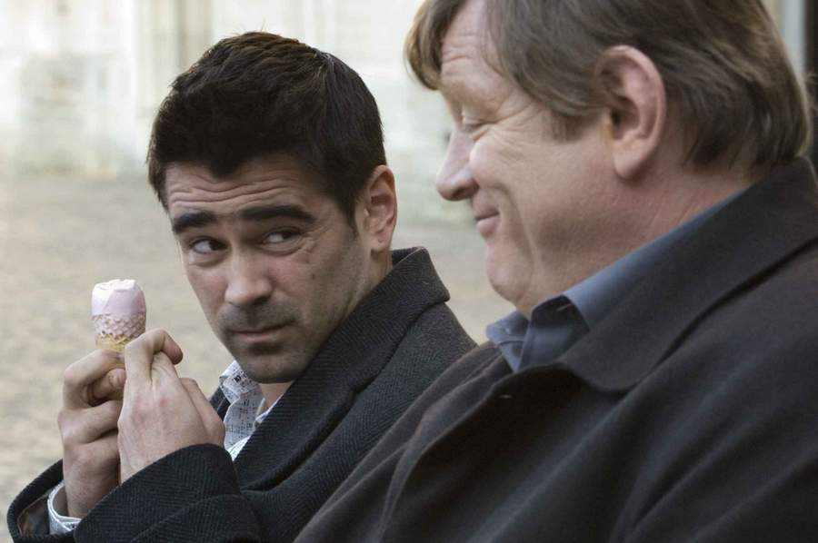 Colin Farrell and Brendan Gleeson in 'In Bruges'