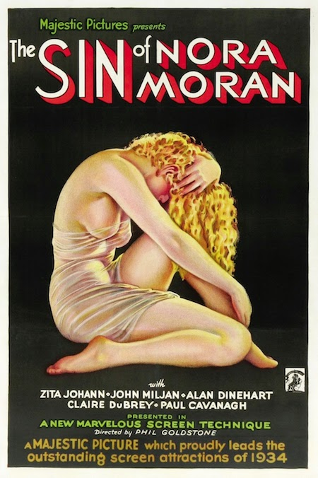 the sin of Nora Moran movie poster - PHOTO 1