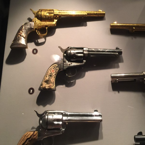 Autry Museum - Ken Maynard, Buck Jones, Leo Carillo - Guns