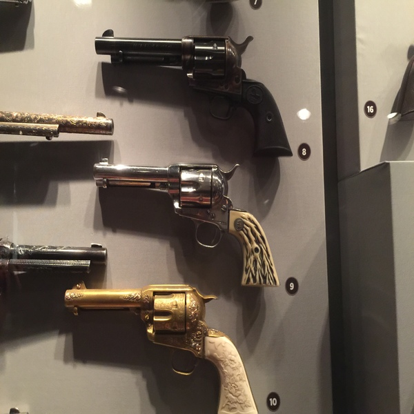 Autry Museum Gail Davis, Tim Holt, Gene Autry Movie guns