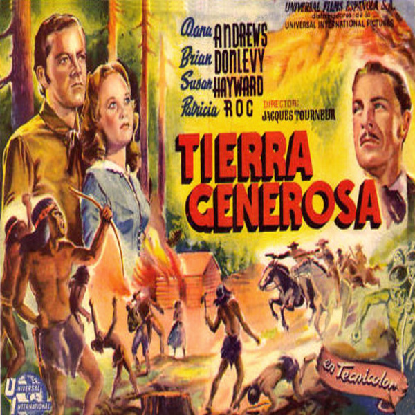 Canyon Passage (1946) Foreign Movie Poster