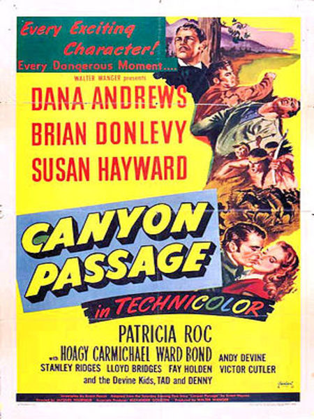 Canyon Passage (1946) Movie Poster