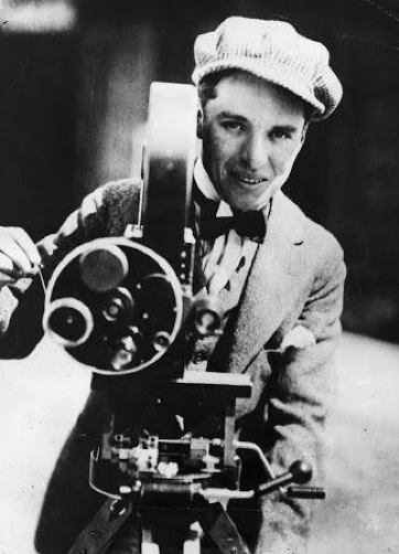 Charlie Chaplin Behind the camera