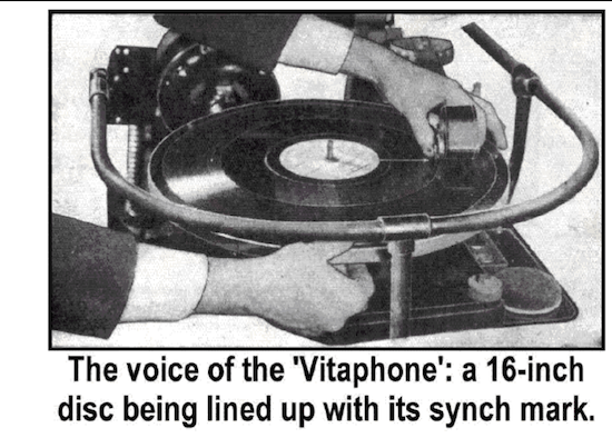 Cuing a Vitaphone Disk