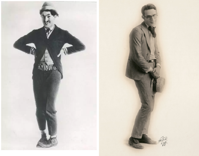 Harold Lloyd Before and After