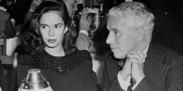 Oona O'Neill and Charlie Chaplin