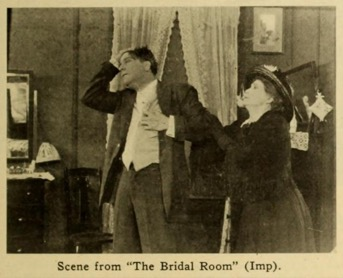 The Bridal Room (1912) King Baggot and Mrs. Allen Walker