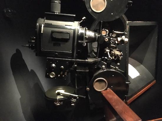 Vitaphone Projector in Loews New Jersey