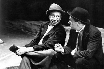 Bert Lahr Waiting for Godot (1956)