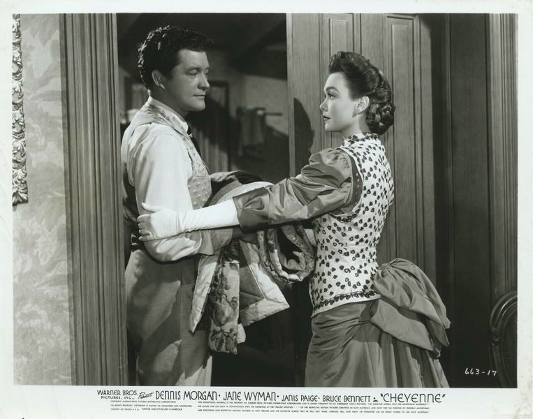 Cheyenne (1947) Dennis Morgan and Jane Wyman