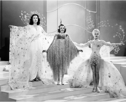 Costumes by Adrian Ziegfeld Girl