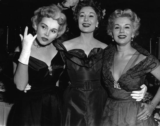 Gabor Sisters, Zsa Zsa., Magda, Eva Gabor