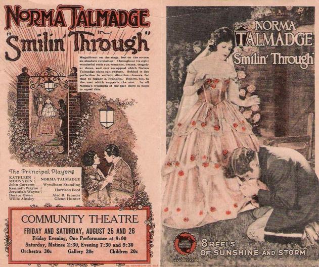 Smilin Through (1922)