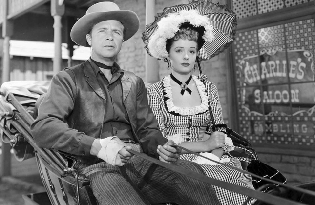 Station West (1948) Dick Powell, Jane Greer
