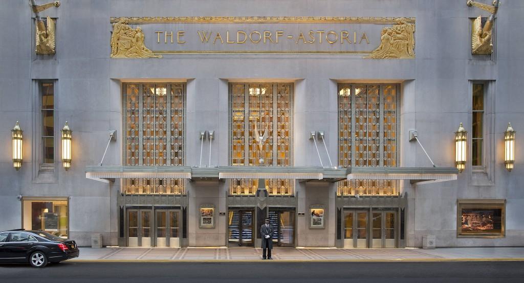 Waldorf Astoria, New York, NY 301 Park Ave. Bert Lahr Residence 1940s