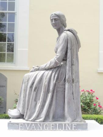 Dolores del Rio Evangeline Longfellow's Poem in Martinville, LA