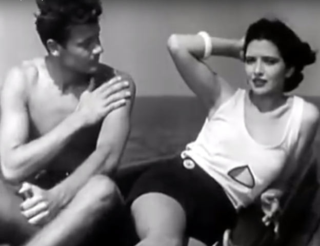 Girls About Town (1931) Joel McCrea and Kay Francis Yacht