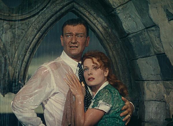 Maureen O'Hara and John Wayne The Quiet Man