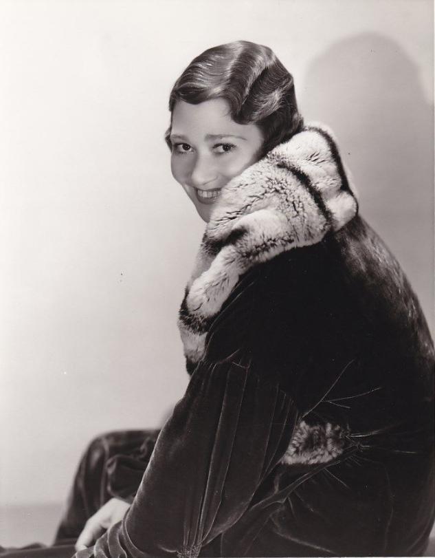 Fay Bainter Fur Headshot