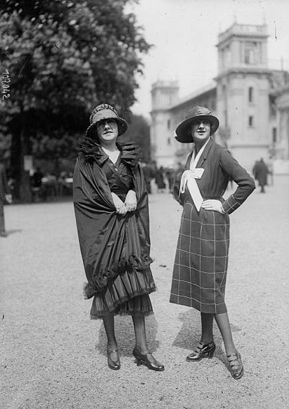 Flapper fashion 1919