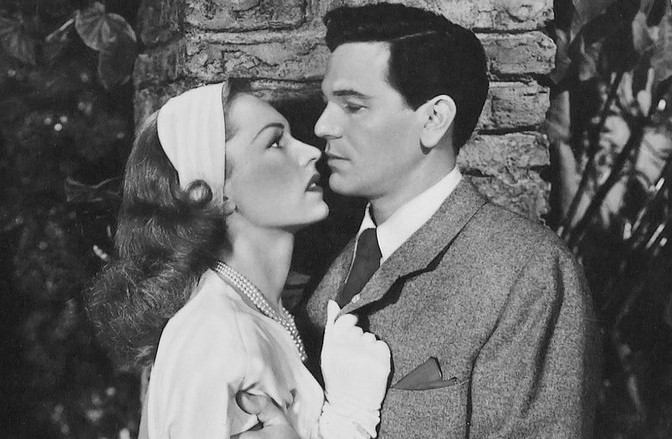Geraldine Fitzgerald and John Garfield in Nobody Lives Forever (1946)