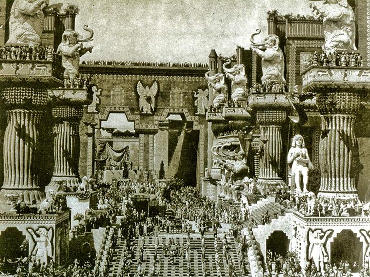 Intolerance (1916) set