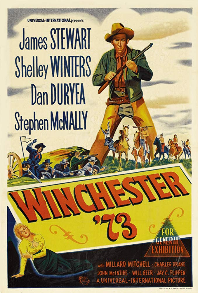 Winchester '73 (1950) Movie Poster