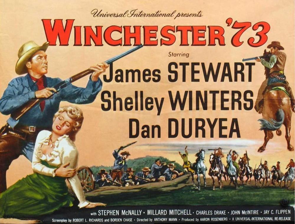 Winchester '73 (1950) James Stewart, Shelley Winters, Dan Duryea
