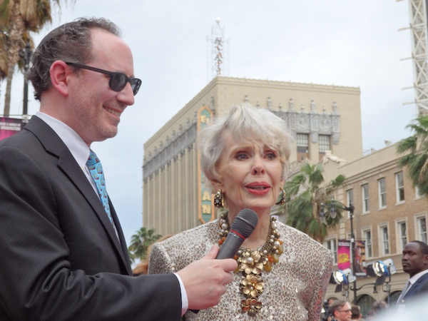 Barbara Rush at 2019 TCM Film Festival (c) 2019 Classic Movie Hub P4110373